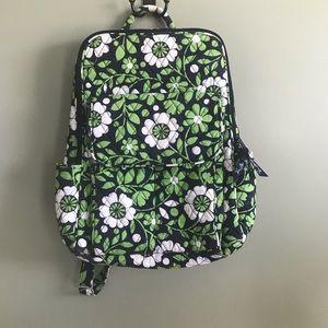 Vera Bradley retired print Lucky You backpack